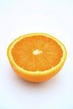 Orange Hälfte Stockbilder