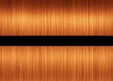 Orange Haar-Hintergrund Stockbilder