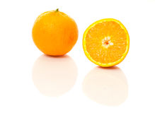 Orange Half Royalty Free Stock Photos