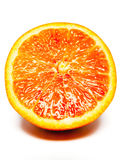 Orange, half to squash Royalty Free Stock Photography