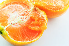 Orange half Stock Image