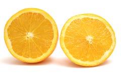 Orange halfs Royalty Free Stock Images