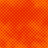 Orange halftone Stock Images