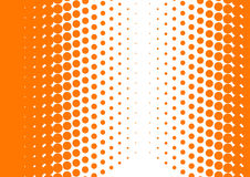 Orange halftone Stock Photos