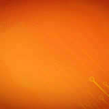 Orange Halftone Background Royalty Free Stock Photo