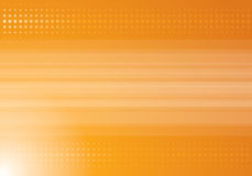Orange halftone background Royalty Free Stock Image