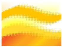 Orange halftone Royalty Free Stock Images