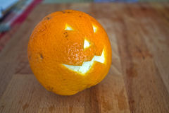 Orange halloween Stock Photos