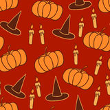 Orange halloween background Royalty Free Stock Photos