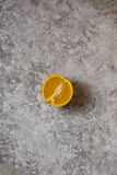 Orange halved background Royalty Free Stock Image