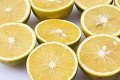 Orange Halves Stock Photos