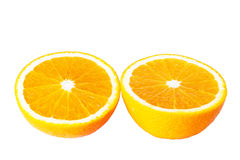 Orange halves Royalty Free Stock Photography