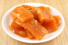 Orange Halwa Royalty Free Stock Photos