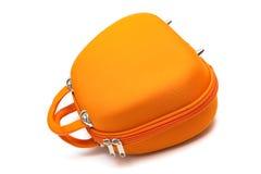 Orange handbag Royalty Free Stock Photos