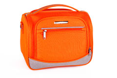Orange handbag Stock Images