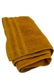orange handduk Arkivbild
