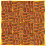 Orange handkerchief Stock Photos