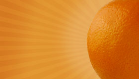 Orange happiness Royalty Free Stock Image