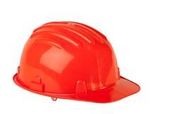 Orange hard hat Stock Photography