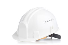 Orange hard hat Stock Photography