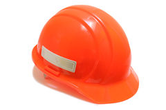 Orange Hard Hat Royalty Free Stock Photography