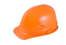 Orange hardhat Royalty Free Stock Photo