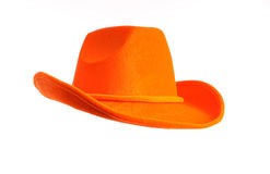 Orange hat Stock Photos