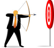 Orange Head_shooting easy target Royalty Free Stock Photos