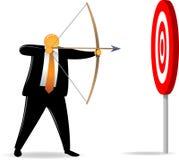 Orange Head_shooting easy target Royalty Free Stock Photos