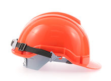 Orange helmet Stock Photos