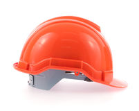 Orange helmet Stock Photography