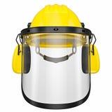 Orange helmet Royalty Free Stock Image