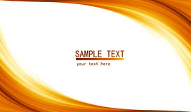 Orange high tech abstract background stock illustration
