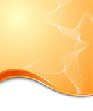 Orange high-tech background template Royalty Free Stock Photography