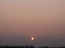 Orange Himmel Stockbilder