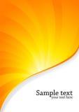 Orange Hintergrund Lizenzfreie Stockbilder
