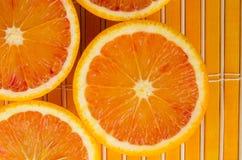 Orange Hintergrund Stockfotografie