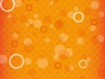 Orange Hintergrund Lizenzfreie Stockfotos