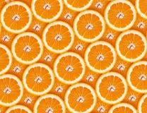 Orange Hintergrund der orange Scheiben Lizenzfreies Stockfoto