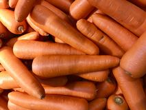 Orange Hintergrund des carrots stockfoto