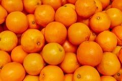 Orange Hintergrund, orange Erzeugnis am Markt lizenzfreie stockbilder