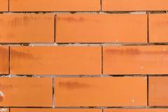 Orange Hintergrundweinlese des Ziegelsteines Stockfotos