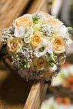 Orange Hochzeitsblumenstrauß Lizenzfreie Stockfotos