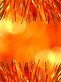 Orange holiday background Stock Photography