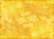 Orange holiday bokeh paper background Stock Image