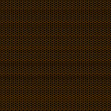 Orange Honeycomb grid background Royalty Free Stock Photography