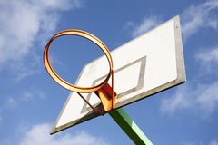 Orange hoop Royalty Free Stock Image