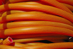 Orange hose Stock Image
