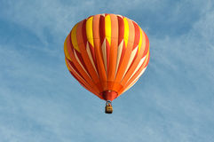 Orange Hot Air Balloon Royalty Free Stock Image