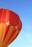 Orange hot air balloon Stock Photography
